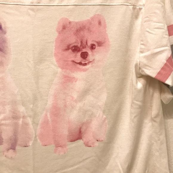 Weekend Soul Women/'s Pomeranian 2 Piece Pajama Set Size Small